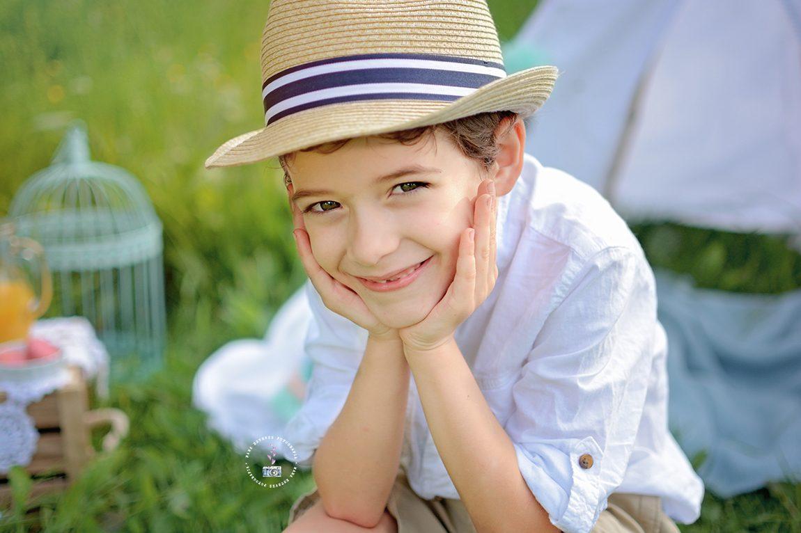 Fotografia de niños en Pontevedra