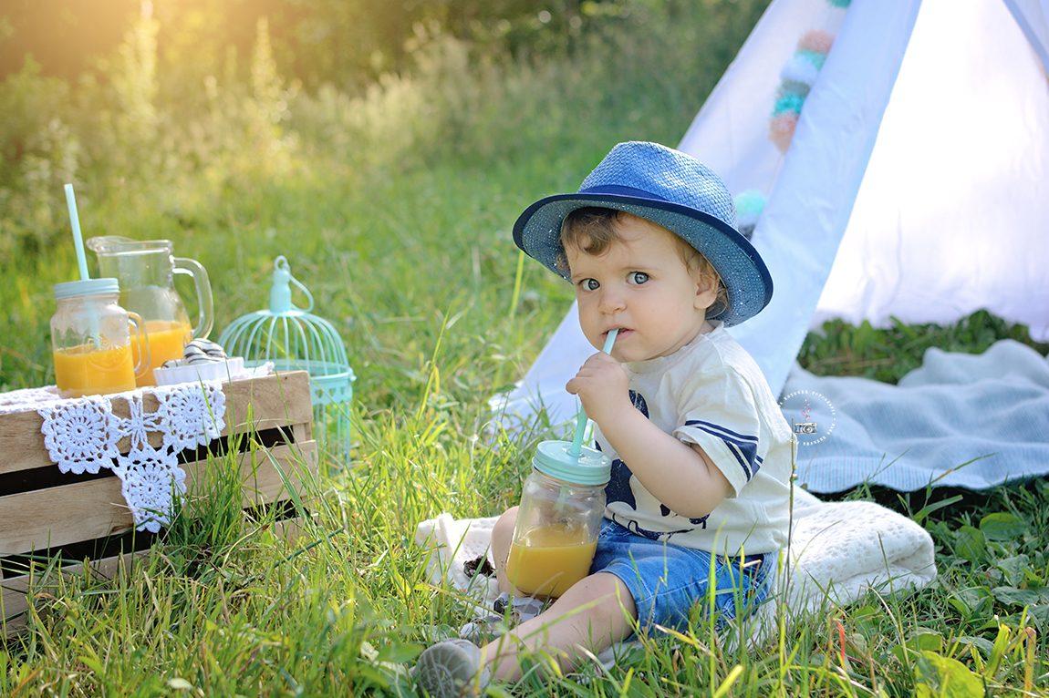 Fotografía de niños en Pontevedra