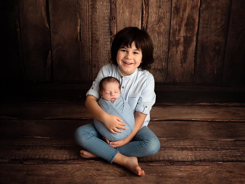 fotografa de niños en Marin
